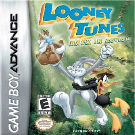 The cover art of the game Looney Tunes - Back in Action.