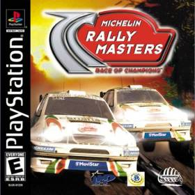 The cover art of the game Michelin Rally Masters: Race of Champions.