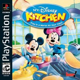 The cover art of the game My Disney Kitchen.