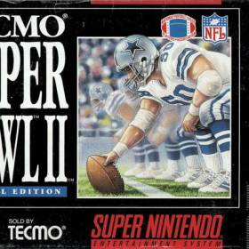 The cover art of the game Tecmo Super Bowl II - Special Edition.