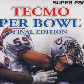 The cover art of the game Tecmo Super Bowl III - Final Edition .