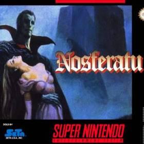 The cover art of the game Nosferatu .