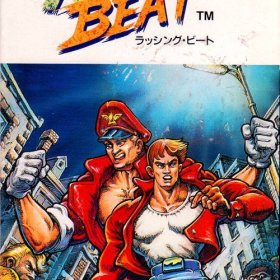 The cover art of the game Rushing Beat .