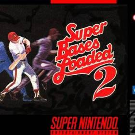 The cover art of the game Super Bases Loaded II.
