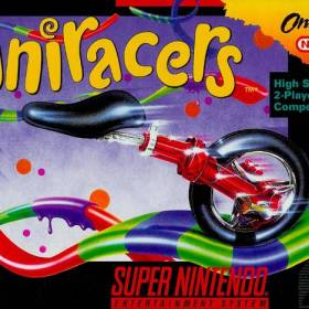 The cover art of the game Uniracers .