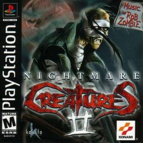 The cover art of the game Nightmare Creatures II.