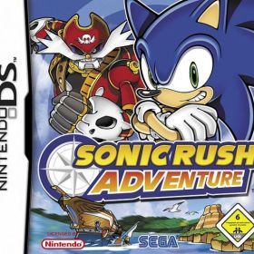 The cover art of the game Sonic Rush Adventure.
