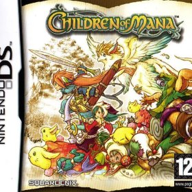 The cover art of the game Children of Mana.