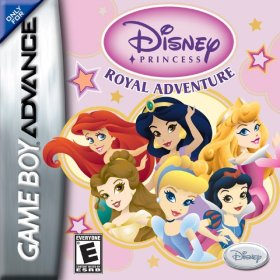 The cover art of the game Disney Princess: Royal Adventure.