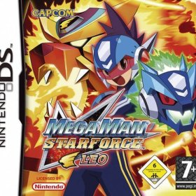 The coverart thumbnail of Mega Man Star Force: Leo