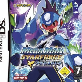 The coverart thumbnail of Mega Man Star Force: Pegasus