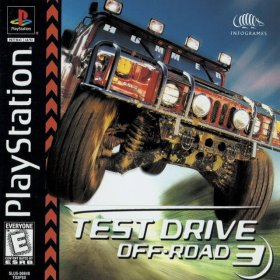 The cover art of the game Test Drive Off-Road 3.