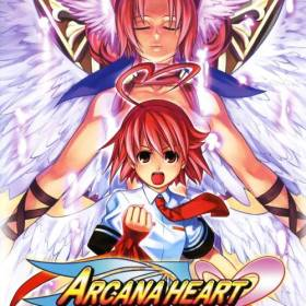 The cover art of the game Arcana Heart.