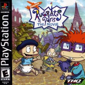 The cover art of the game Rugrats in Paris: The Movie.