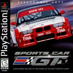 The cover art of the game Sports Car GT.