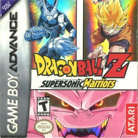 The cover art of the game DragonBall Z - Supersonic Warriors .