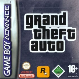 The cover art of the game Grand Theft Auto Advance.