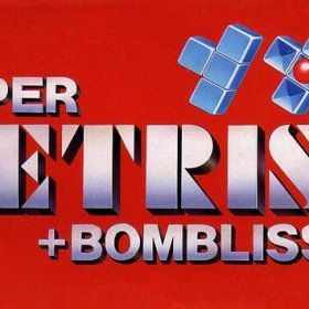The cover art of the game Super Tetris 2 + Bombliss .