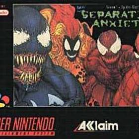 The cover art of the game Spider-Man & Venom - Separation Anxiety .