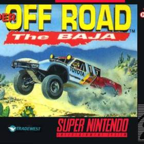 The cover art of the game Super Off Road - The Baja .