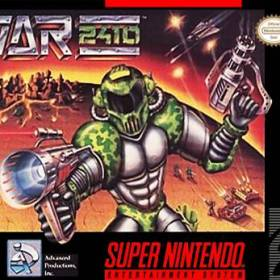 The cover art of the game War 2410 .