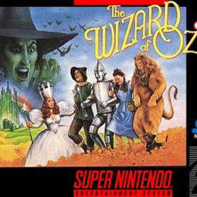 The cover art of the game The Wizard of Oz.