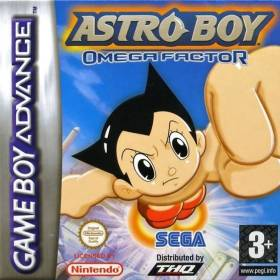 The cover art of the game Astro Boy - Omega Factor.