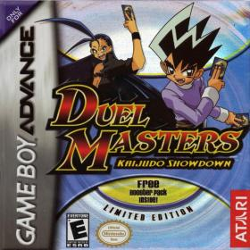 The cover art of the game Duel Masters - Kaijudo Showdown.
