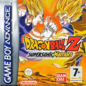 The cover art of the game DragonBall Z - Supersonic Warriors.