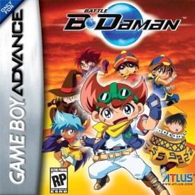 The cover art of the game Battle B-Daman .