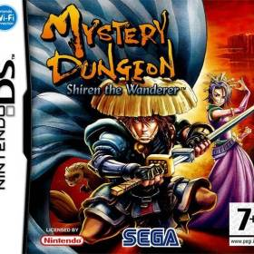 The cover art of the game Mystery Dungeon - Shiren the Wanderer .
