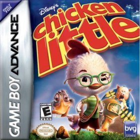 The cover art of the game  Chicken Little .