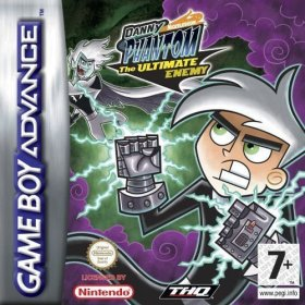 The cover art of the game Danny Phantom - The Ultimate Enemy.