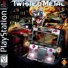 The cover art of the game Twisted Metal.