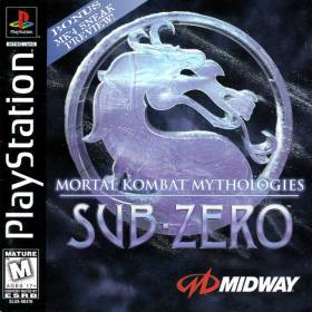 The cover art of the game Mortal Kombat Mythologies: Sub-Zero.