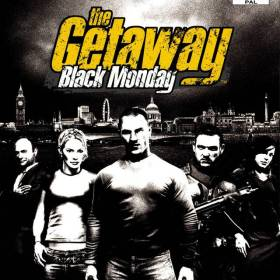 The cover art of the game The Getaway: Black Monday.