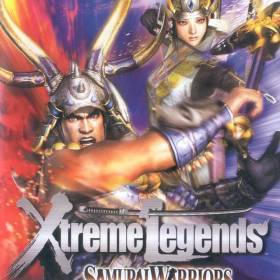 The cover art of the game Samurai Warriors: Xtreme Legends.
