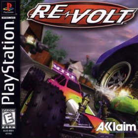 The cover art of the game Re-Volt.