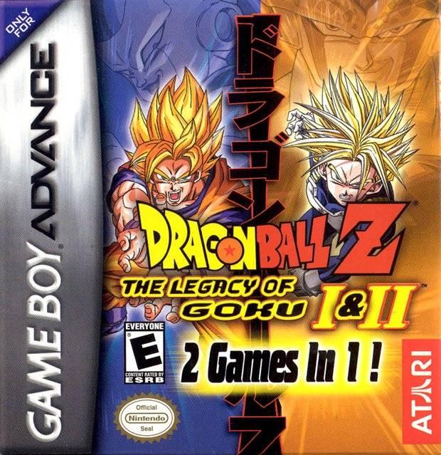 2 in 1 - Dragon Ball Z - The Legacy of Goku I & II