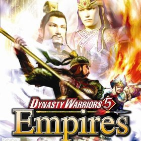 The cover art of the game Dynasty Warriors 5: Empires (Germany).