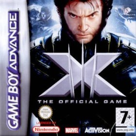 The cover art of the game X-Men - The Official Game .
