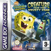 The cover art of the game SpongeBob SquarePants - Creature from the Krusty Krab .