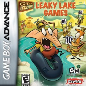 The cover art of the game Camp Lazlo - Leaky Lake Games.