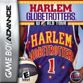 The cover art of the game The Original Harlem Globetrotters .