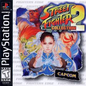 The cover art of the game Street Fighter Collection 2.