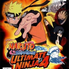 The cover art of the game Naruto Shippuden: Ultimate Ninja 4.