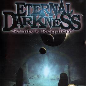 The cover art of the game Eternal Darkness: Sanity's Requiem.