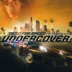 The cover art of the game Need for Speed Undercover.