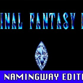 The cover art of the game Final Fantasy IV Namingway Edition.