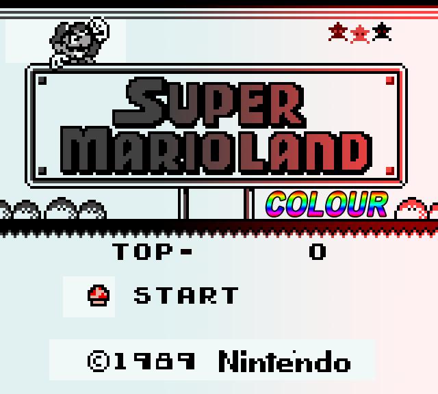 Super Mario Land Colour